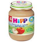 HIPP Био Бебешко пюре/ябълки/4м+ 125 гр.